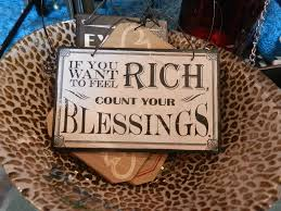 Get rich in blessings