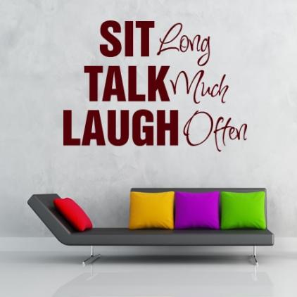 Talk laugh