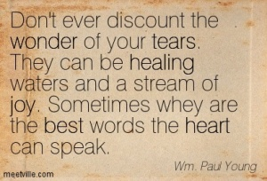 tear quote